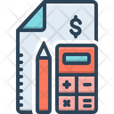 Account Accounting Calculation Icon