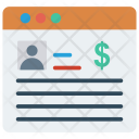Account Webpage Profile Icon