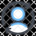 Account Refresh Profile Icon