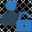Account Unlock Padlock Icon
