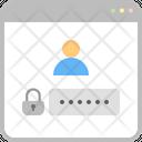 Account Password Privacy Icon