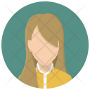Account Business Woman Icon