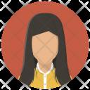 Account Businesswoman Female Icon