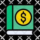 Book Dollar Records Icon