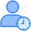 Account History Clock Time Icon