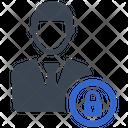 Profile Account Lock Icon