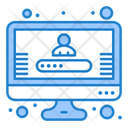 Account Login User Login User Password Icon