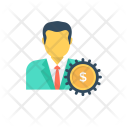 Account Management Manager Icon