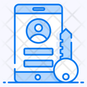 Account Password Mobile Login Mobile Protection Icon