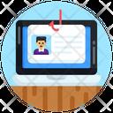 Profile Phishing Account Phishing System Phishing Icon