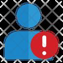 User Error Security Notice Icon