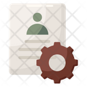 Account Setting Account Configuration Account Maintenance Icon