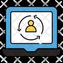 Account Refresh Account Update Account Restore Icon