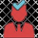 Account Verify Seo Web Icon