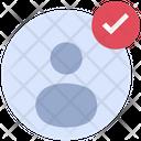 Account Verify Account Customer Icon