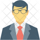 Accountant Banker Employee Icon