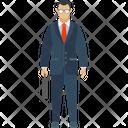 Business Person Executive Businessman Icon