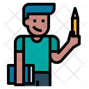 Account Write Pen Icon
