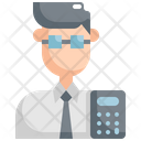 Accountant Account Avatar Icon
