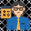 Iaccountant Accountant Occupation Icon