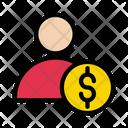 Accountant Dollar Profile Icon