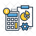 Accountant Cashier Banker Icon