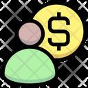 Accountant Banker Finance Manger Icon