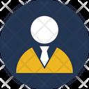 Accountant Businessman Businessperson Icon
