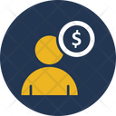 Accountant Businessman Employee Cost Icon