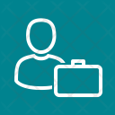 Accountant Employee Budget Icon