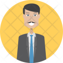 Accountant Character Profession Icon