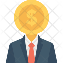 Businessman Businessperson Financier Icon