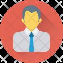 Businessman Accountant Businessperson Icon