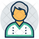 Accountant Auditor Clerk Icon