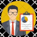 Accountant Analyst Analyzer Icon