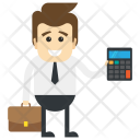 Accountant Cashier Accounts Icon