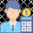 Accountant Male Icon