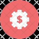 Accounting Dollar Gear Icon