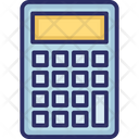 Accounting Adding Machine Calc Icon