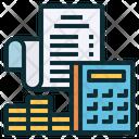 Accounting Calculator Receipt Icon