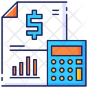 Accounting Business Report Icon