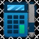 Accounting Calculator Pen Icon