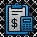Accounting Report Calculator Icon