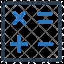 Calculator Accounting Math Icon