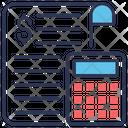 Money Calculator Accounting Icon