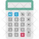 Accounting Budgeting Calculating Machine Icon