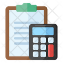 Accounting Bookeepting Calculations Icon