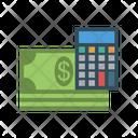 Calculator Accounting Dollar Icon
