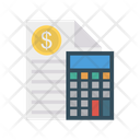 Accounting Calculator Calculation Icon