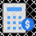 Calculate Calculator Math Icon